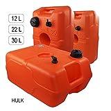 Réservoir de carburant | très pratique | HULK | Dans des différents volumes | en HDPE Polyethylen avec tulle (30 l)