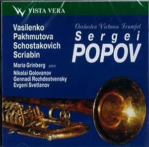 Vasilenko/Pakhmutova/Shostakov [Import anglais]