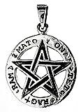 Pentagrama Colgante de 925plata de ley nº 227