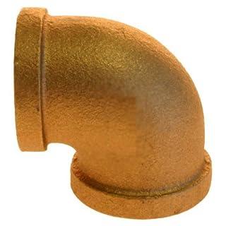Aviditi 90036 1-Inch Brass 90-Degree Elbow, (Pack of 5) by Aviditi
