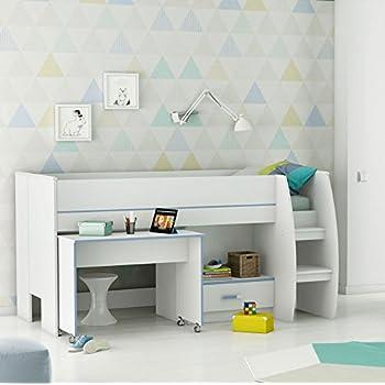 kombi bett schreib schlaf kombi etagenbett schreibtisch kinderzimmer galen i k che. Black Bedroom Furniture Sets. Home Design Ideas