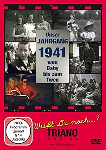 Unser Jahrgang 1941 - vom Baby bis zum Twen: zum 76. Geburtstag