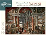 Picture Gallery With Views of Modern Rome: 1,000 Piece Puzzle