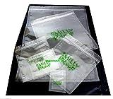 5x einzelne Geruch Proof Staubbeutel, XS - 3x4