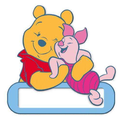 decofun-targhetta-porta-nome-per-porta-motivo-winnie-the-pooh-multicolore-mehrfarbig