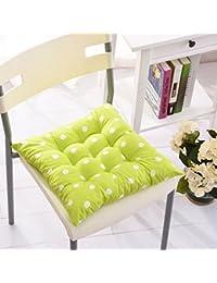 Fu Man Li Trading Company Wave Point Impresión de cojín de almohadilla de silla Cojín de almohadilla de oficina (no incluida la silla) A+ ( Color : #2 )