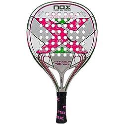 Nox Stinger Jr. 2.1 Girls - Pala de pádel, color rosa
