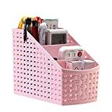 #9: Kuber Industries™ 4 Sections Plastic Storage Basket/Compact Basket/For Kitchen,Bathrooms,Office Multi Purpose Use 1 Pc- Assorted Colors (COMBAS06)