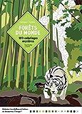 Coloriages mystères Forêts du monde - 100 coloriages mystères