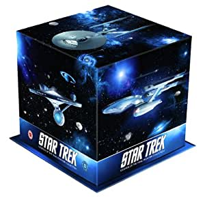 Star Trek: Films I – X Remastered Special Edition Box Set (Star Trek: The Motion Picture, Star Trek: The Wrath of Khan, Star Trek: The Search For Spock, Star Trek: The Voyage Home, Star Trek: The Final Frontier, Star Trek: The Undiscovered Country, Star [Import anglais]