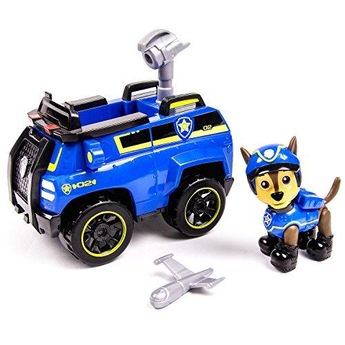 Spy Cruiser veicolo di Paw Patrol Chase con Figura
