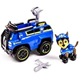 Paw Patrol Chase's Spy Cruiser, Vehicle and Figure with Paw Patroller (Multicolour)