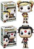 Funko POP! DC Comics Bombshells: Harley Quinn + Katana - Vinyl Figure Set NEW