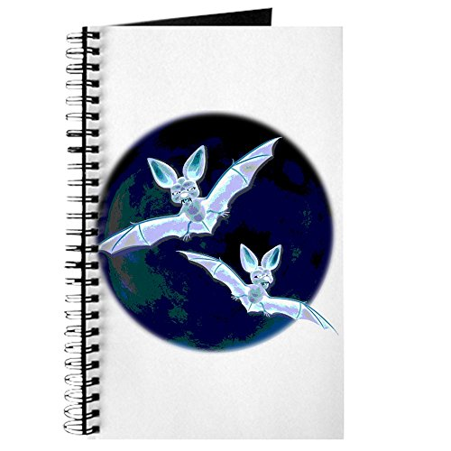 CafePress - Halloween Fledermäuse - Spiralgebundenes Tagebuch, persönliches Tagebuch, blanko