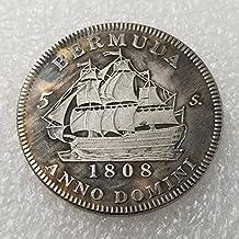 YunBest 1808 Royal George III de Escocia, Moneda de Plata Antigua, colección de Monedas