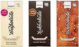 Xucker Xylit-Schokolade - Probierset mit Erdbeer-Joghurt (6 x 100 g Tafel)