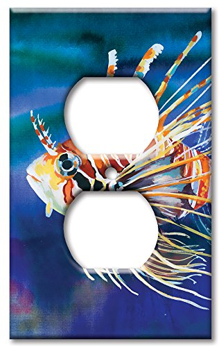 Art Plates Wandteller, Übergröße, Clownfisch Steckdose Mehrfarbig -