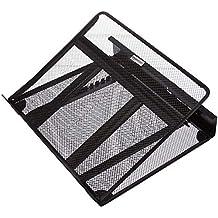 AmazonBasics - Supporto ventilato per laptop, regolabile in altezza, con organizer per cavi