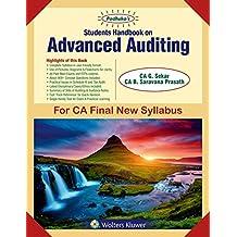 Padhuka's Students Handbook on Advanced Auditing: for CA Final New Syllabus