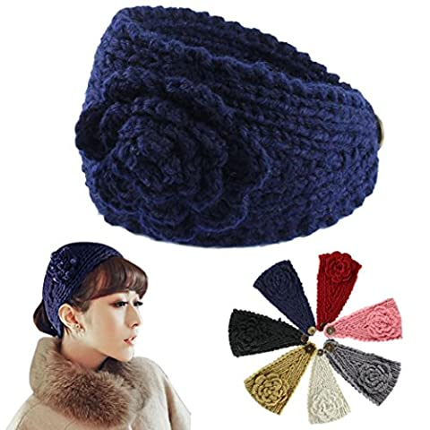 Hair Accessories, Kolylong® Mode FéMinine Crochet Knit Bandeau Serre-TêTe Fleurs