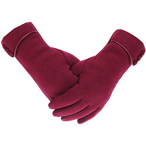 outrip-womens-lady-winter-warm-gloves-touch-screen-phone-windproof-lined-thick-gloves-winered