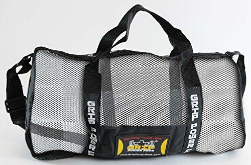 Grip Power Pads Mesh Gear Bag–Mehrzweck-Gym, Beach Bag Tauchen & mehr–verstellbarer Schultergurt