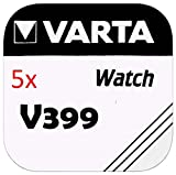 Varta de botón V399 5 unidades