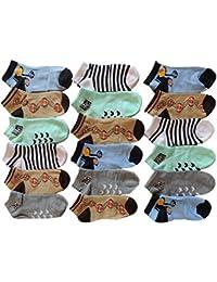 10 Stück Jungen Sneaker Socken Größe 23-34