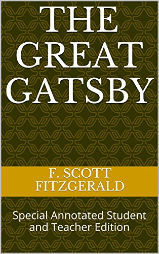 The great gatsby special annotated student and teacher edition the great gatsby special annotated student and teacher edition by fitzgerald f fandeluxe Images