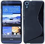 HTC Desire 626G Silikon Hülle Tasche Case Gummi Schutzhülle Zubehör