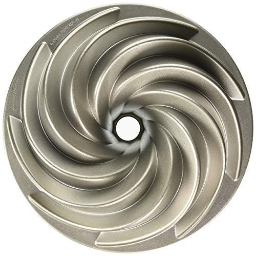 Nordic ware platinum collection stampo per dolci - per ciambelloni, torte, alimenti salati