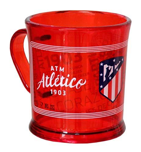 Atletico à Madrid Tasse en Plastique Transparente