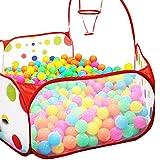 Babyspielzeug Longra Beweglicher Hexagon Kinder Baby Bällebad Ballpool Pool Bällepool Drinnen und draußen,Kinder Spielzeug Spiel Zelt mit Aufbewahrungstasche für Kindergeschenke
