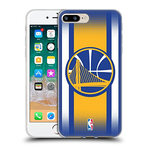 Offizielle NBA S&W Marmor Golden State Warriors Soft Gel Hülle für Apple iPhone 6 / 6s Halbton Gradient