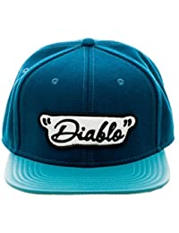 DC Comics Suicide Squad Diablo Embroidered Logo Adjustable Baseball Kappe