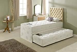 capricorn luxe capitonn e double lit d 39 appoint lit gigogne cuisine maison. Black Bedroom Furniture Sets. Home Design Ideas