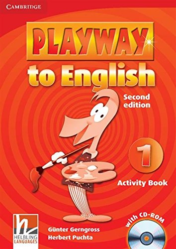 Playway to English 2nd  1 Activity Book with CD-ROM - 9780521129930