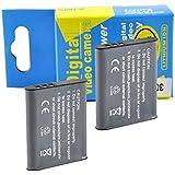 2 Pack 3.7V 925mAh Battery For Olympus Tough Stylus 9000 9010 SW 1020 1030 SW 1020 1030 SW SP-800 SZ10 SZ-30MR TG-610 TG-810 LI-50B