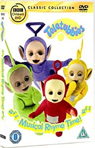 Teletubbies Musical Rhyme Time Dvd Amazon Co Uk