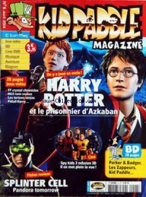 KID PADDLE MAGAZINE [No 6] du 01/04/2004...