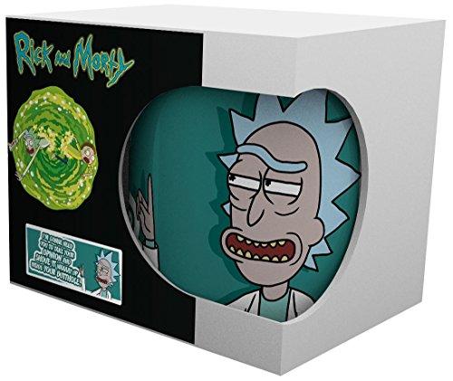 Rick and Morty Opinion Tazas Blanco