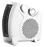 2 X 2Kw Electric Fan Heater with Overheat Protection