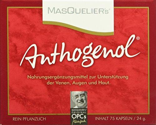Masquelier's Original OPCs Anthogenol 75 Kapseln, 1er Pack (1 x 24 g)