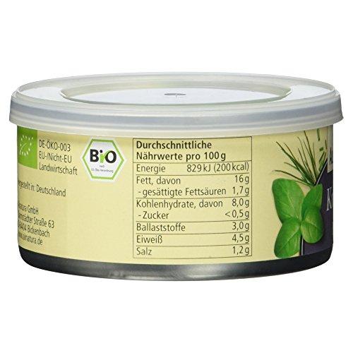 Alnatura Bio Pastete Kräuter, vegan, 6er Pack (6 x 125 g) - 5