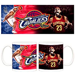 Taza NBA Cleveland Cavaliers LeBron James