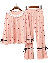 531ed7645d Long Sleeve Cotton Pyjamas Set Nightwear for Big Girls and Womens