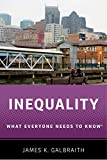 Inequality: What Everyone Needs to Know (English Edition)