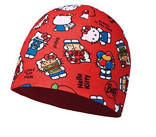 BUFF® SET - CHILD MICROFIBER POLAR HAT Licenses Bonnet Enfants + UP® UltraPower Tissu tubulaire | Disney | Cars | Elsa | Mickey Mouse | Hello Kitty | Fonctionnel | Polar Fleece | Caps | Hiver