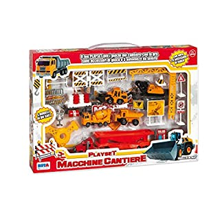 RSTA 9641 – Diecast Playset Machinery Construction Site