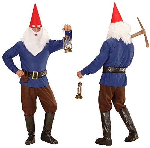lb blau grün Zwergenkostüm Gnome Faschingskostüm 901623 Checklife (X-Large, blau) (Erwachsene Gnome Kostüme)